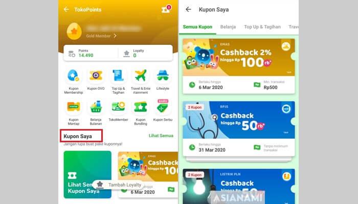 cara mendapatkan cashback tokopedia