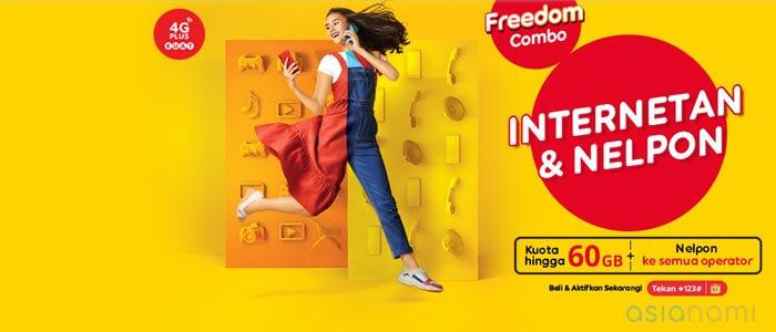 paket internet freedom combo indosat murah