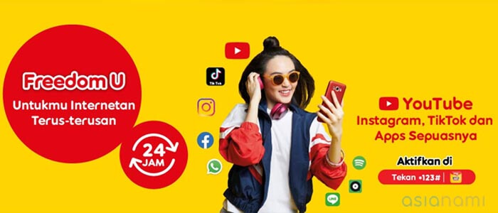 paket internet (freedom unlimited) indosat murah