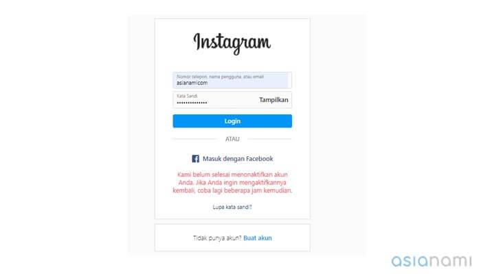 cara mengembalikan akun instagram yang dihapus