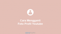 cara mengubah foto profil youtube