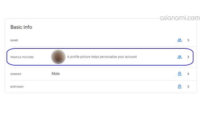 cara hapus foto profil di akun gmail