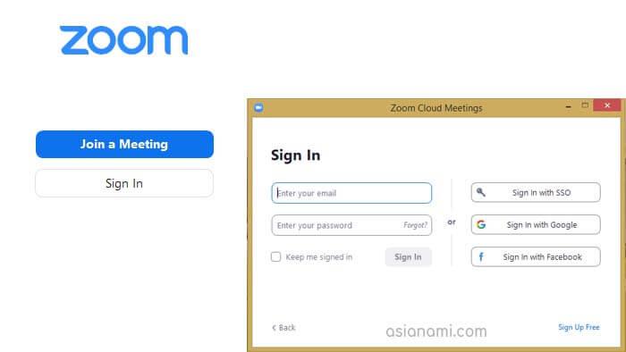 aplikasi zoom untuk laptop