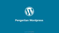 pengertian wordpress